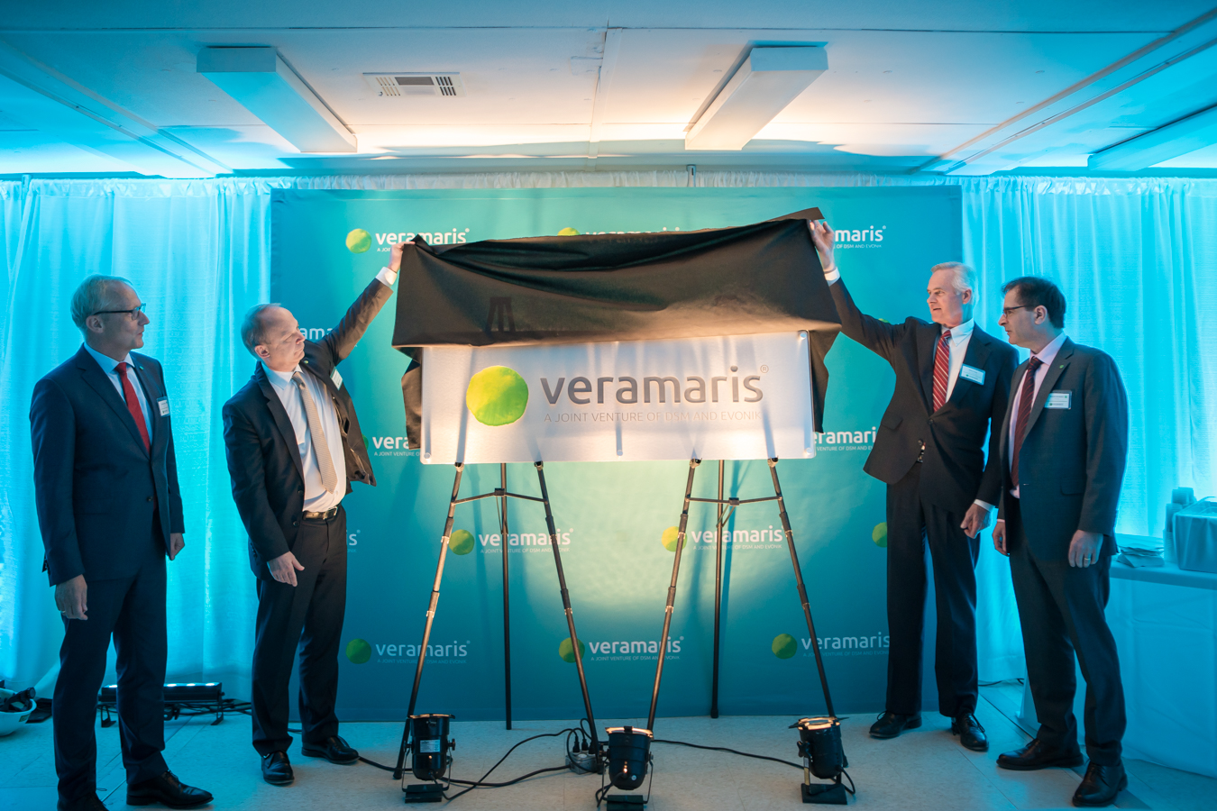 Half-time for Veramaris' algal oil production facility in